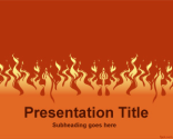 Fire PowerPoint Template | Free Powerpoint Templates