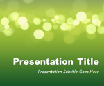 Green Marketing PowerPoint Template