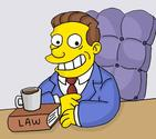 Lionel Hutz, The Simpsons