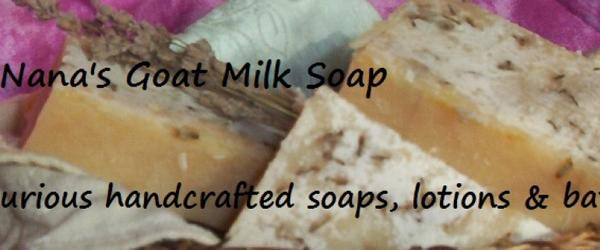 Headline for Homemade Goats Milk Soap Recipe