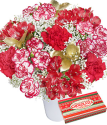Christmas Flower Gift | Happy Christmas Flower Gift | Bunches.co.uk