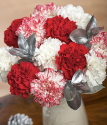 Cheap Christmas Flowers | Christmas Candy Bouquet | Bunches.co.uk