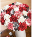 Xmas bouquet | Christmas Candy | Christmas flowers by post from Bunches with free UK delivery
