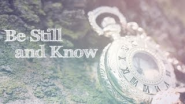 Scripture Lullabies - Be Still And Know - YouTube