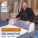Joe Anastasi from Direct Shutters | Tradies SA Tradie of the Month October 2014