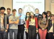 Two Managers From Appleby Westward Group Limited Present To Students At Plymouth City College