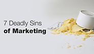 THE 7 DEADLY SINS THAT YOU CAN NOT COMMIT BY TAKING YOUR BRAND TO THE INTERNET