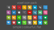 Voxel - Icon Pack - Android-Apps auf Google Play