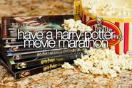 Plan movie marathons