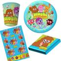 Moshi Monster party supplies -Moshi Monster Invitations, Plates, Decorations and Gift Ideas