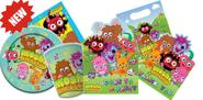 Moshi Monster Party Supplies - Birthday invitations, plates, decorations and gift ideas