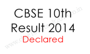 CBSE 10th Result 2014