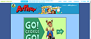 Arthur . Games . Go! George Go! | PBS Kids