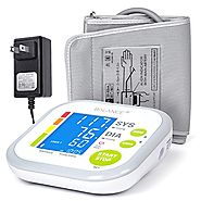 Balance Blood Pressure Monitor Kit with Upper Arm Cuff, Digital BP Meter With Large Display, Set also comes with Tubi...