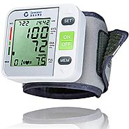 Clinical Automatic Blood Pressure Monitor FDA Approved by Generation Guard with Large Screen Display Portable Case Ir...