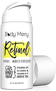 Retinol Surge Moisturizer- Retinol Cream 2.5% - 3.4 fl oz w Best Natural Ingredients Hyaluronic Acid Serum + Green Te...