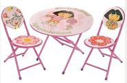 Dora the Explorer Folding Table and Chairs Set