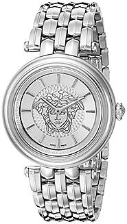 Versace Women's VQE040015 KHAI Medusa Stainless Steel Bracelet Watch