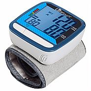 "Care Touch Fully Automatic Wrist Blood Pressure Cuff Monitor - Classic Edition, 5"" - 8"" Cuff Size- Batteries and Case..."