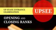 Opening and closing rank of upsee 2013