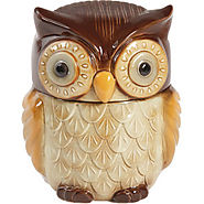 Gibson Home Owl Cookie Jar - Kitchen Things