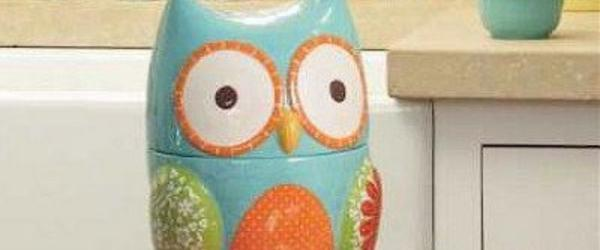 Headline for Unique Owl Cookie Jars