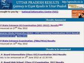 "Results 2014 "" UP Intermediate Result 2014"