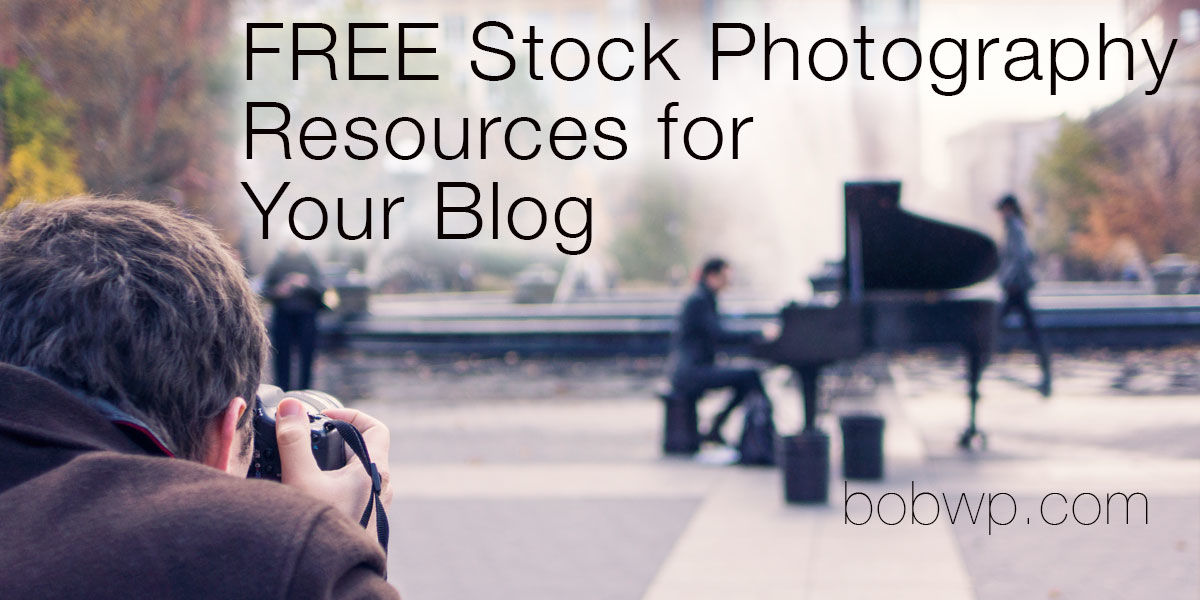 Headline for Free Stock Photos For Your Blog or Website