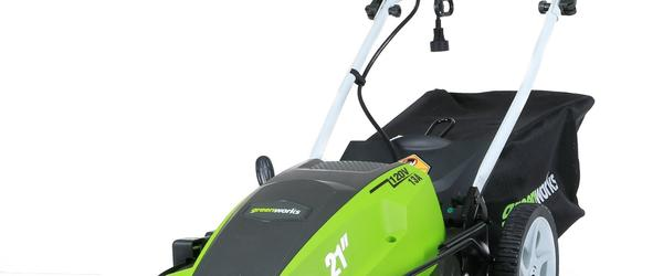 Headline for Best Electric Lawn Mower - Review for 2014
