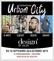 Exposition d'art à Paris : URBAN CITY du 16 septembre - 6 octobre 2019 | DesignbyJaler