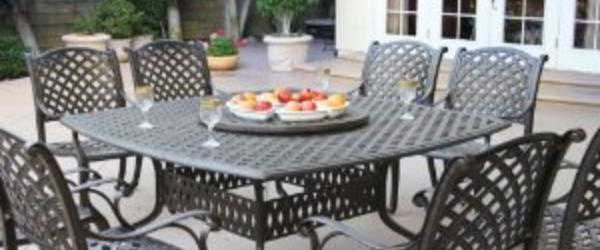 Headline for Best Cast Aluminum Outdoor Patio Dining Sets For 8 On Sale