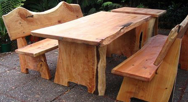 Headline for Outdoor Wood Dining Table Set 2014