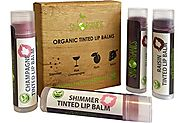 Organic Tinted Lip Balm by Sky Organics – 4 Pack Assorted Colors –- With Beeswax, Coconut Oil, Cocoa Butter, Vitamin ...