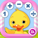 Math School Games Learning Counting, Addition, Multiplication & more - Top App for Kids!