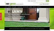 EZ Grass - WordPress Artificial Grass Website By Biztech Consultancy