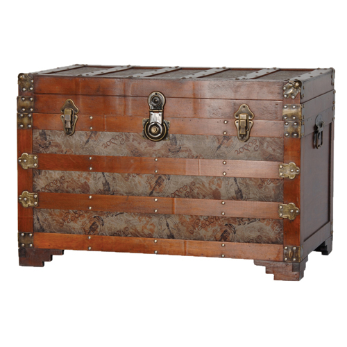 SLATTED EFFECT TRUNK