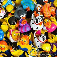 Rubber Ducks Assortment - 50 Pieces