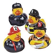 Fire Fighter Rubber Ducks