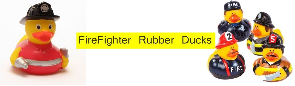 Headline for FireFighter Rubber Ducks