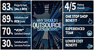 Why and where to outsource data entry services?