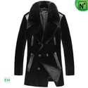 Shearling Peacoat for Men CW868005