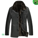 Shearling Parka Mens Coat CW878574