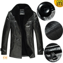 Shearling Leather Coat for Men CW877365