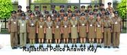 Rajasthan Police Answer Key 2014 Constable Exam paper Solution