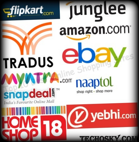 Headline for Top ten Indian online shopping destinations