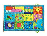 Tiny Love Super Mat, Orange/ Blue