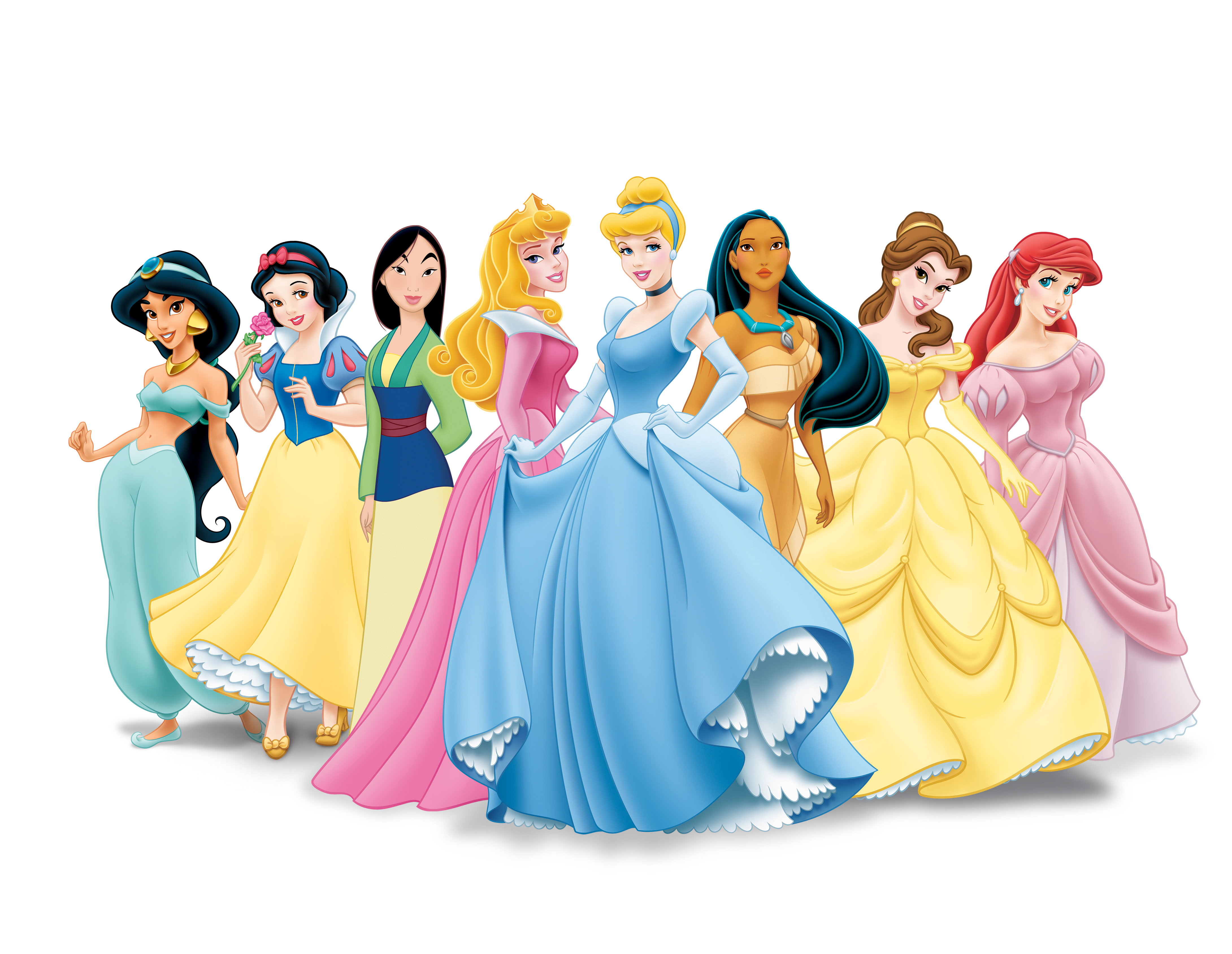 Headline for Classic Disney princesses