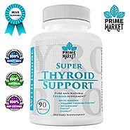 Thyroid Support Supplement with Iodine for Hypothyroidism | Natural Complex for Weight Loss | Supports Focus & Clarit...