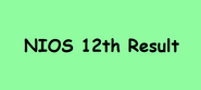 "Results 2014 "" NIOS 12th Result 2014"