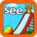 Super Sight Words - A fun learning game for children in kinder, first, and second grades that will help your child le...